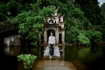 Rising tides at Bich Dong Pagoda in Ninh Binh, Vietnam.