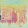 A scratched and faded Polaroid taken in the Scottish countryside with Sula Clothing.