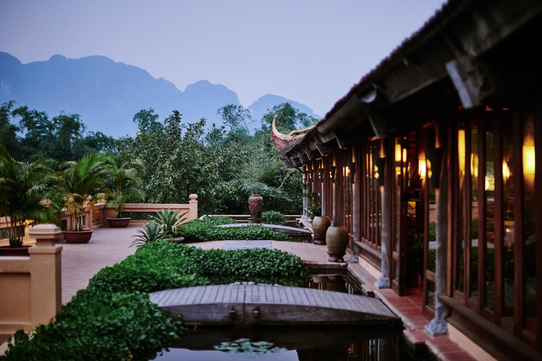 The Emeralda Resort in Ninh Binh, Vietnam.