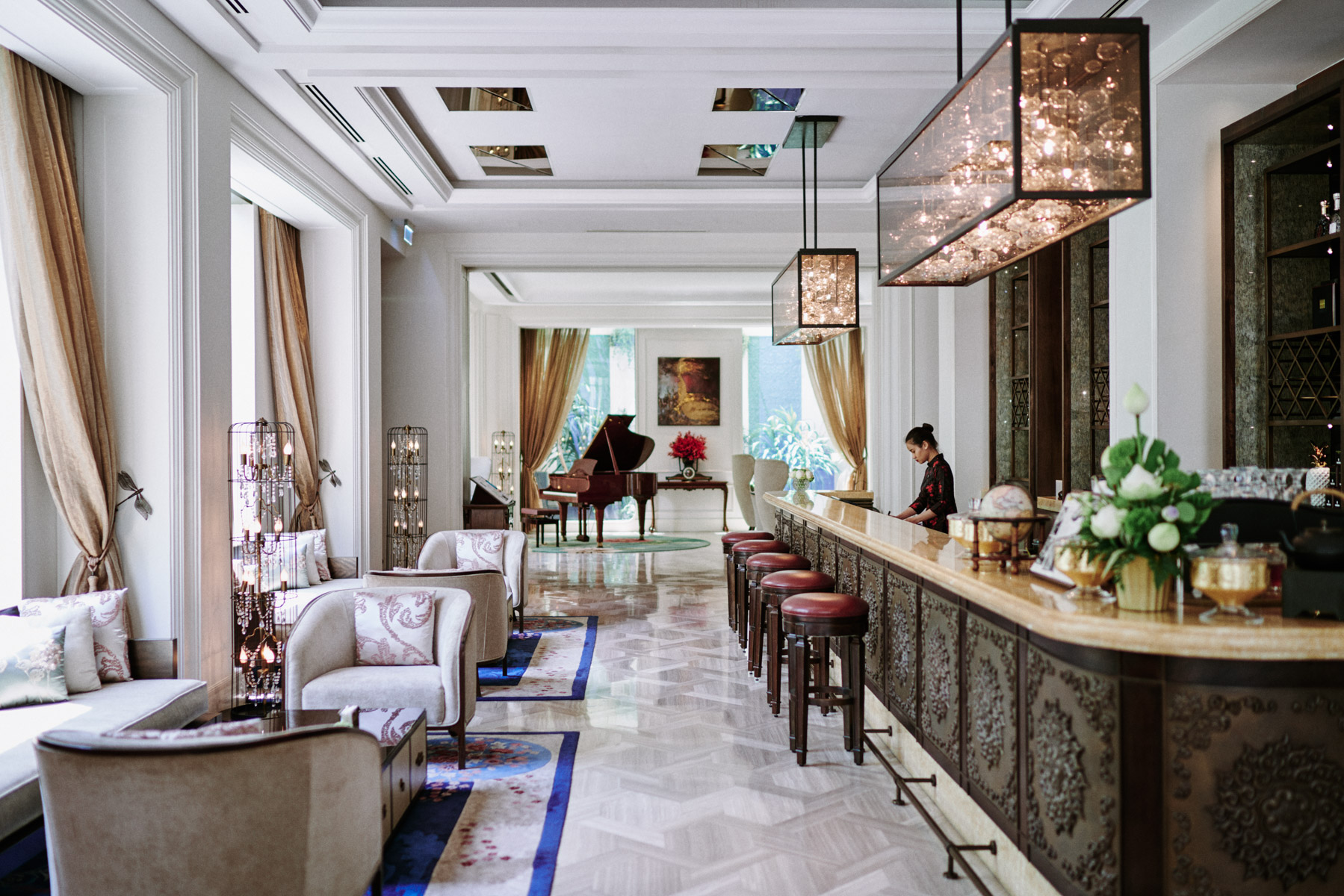 The Hotel des Arts in Ho Chi Minh City, Vietnam.