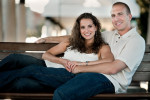 Charleston Waterfront Park Engagement Wedding Session
