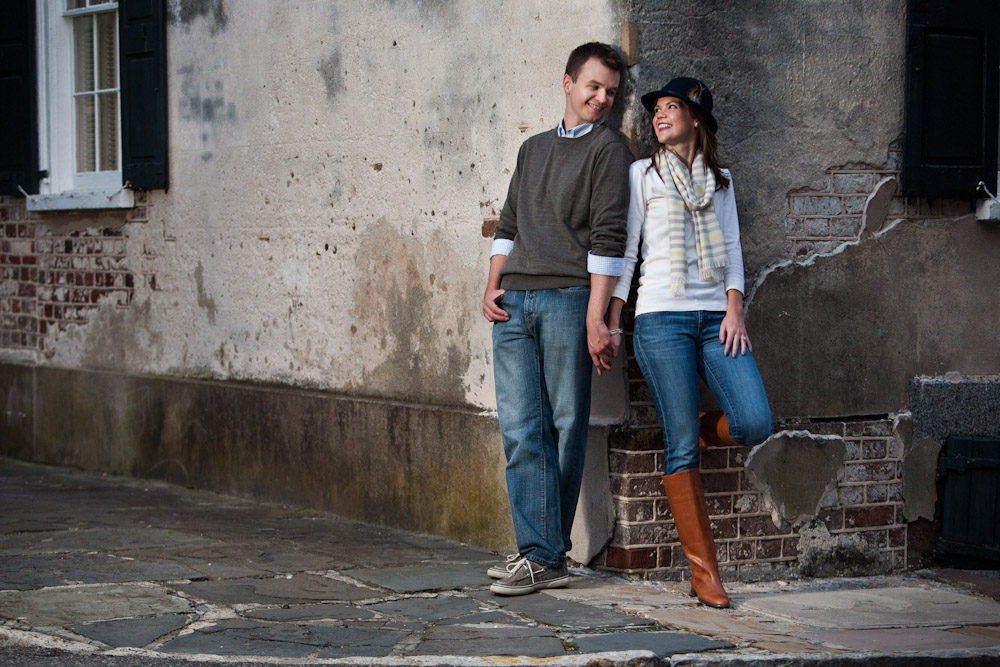 Historic Charleston Battery Engagement Wedding Session