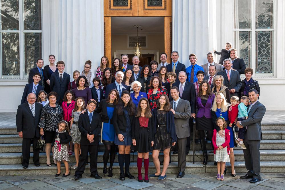 Bat Mitzvah held at Kahal Kadosh Beth Elohim synagogue in Charleston, South Carolina.