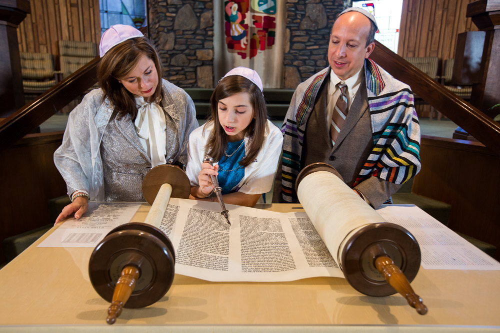 Bat Mitzvah held at Emanu-El synagogue in Charleston, South Carolina.
