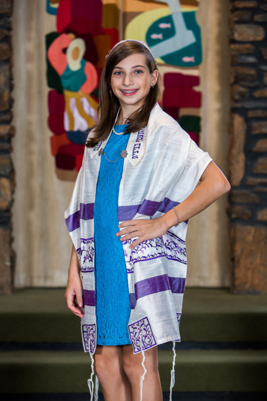 Bat Mitzvah held at Emanu-El synagogue in Charleston, South Carolina.