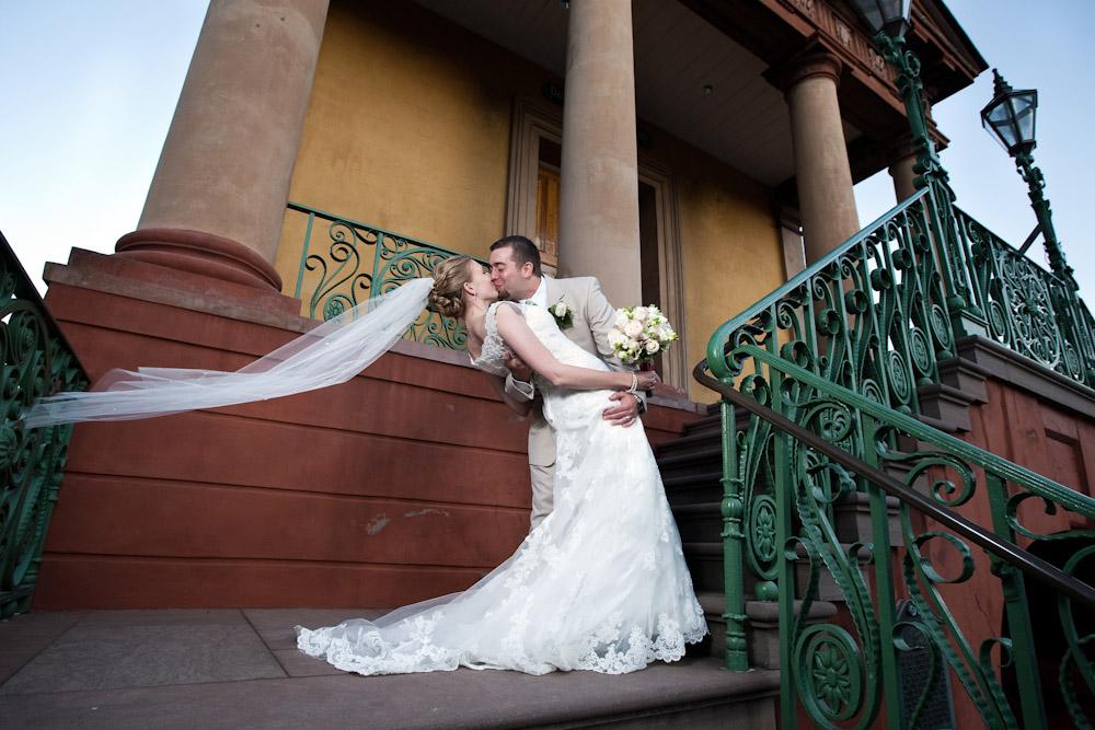 Charleston Wedding Photographed at The Market.
