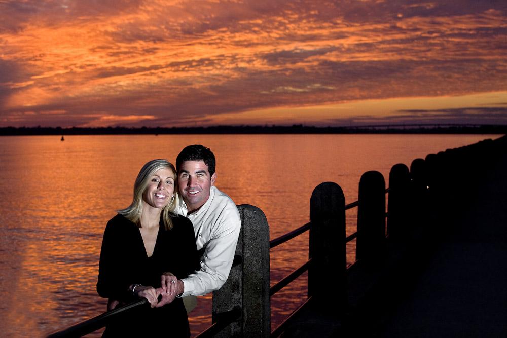 Historic Charleston Battery Engagement Wedding Session