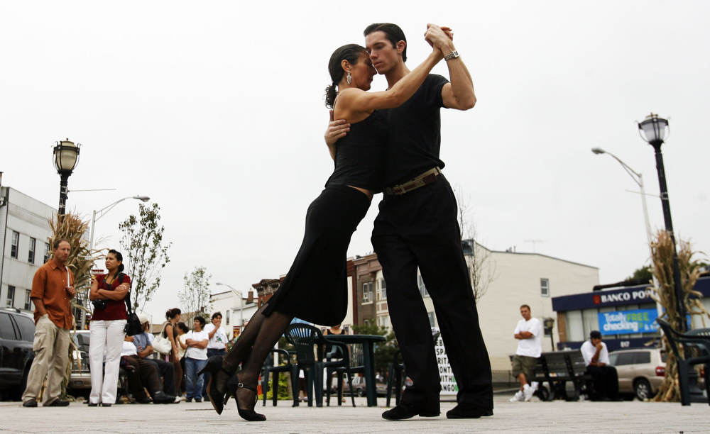 The Elizabeth Avenue Partnership held a Hispanic Heritage month event, taste of tango at the Union Square in Elizabeth.