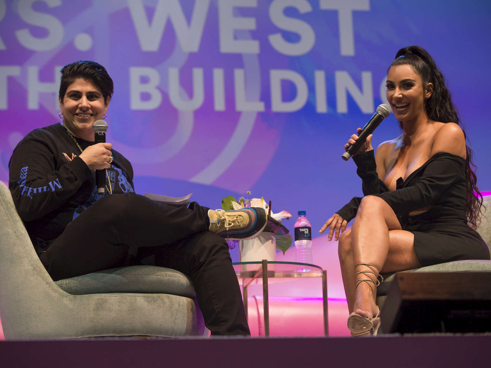 "The reality TV star was interviewed by Moj Mahdara, the chief executive officer of Beautycon. Ms. Mahdara says she first saw the potential in Beautycon in 2013, when she was looking for ""the next gen of QVC."""