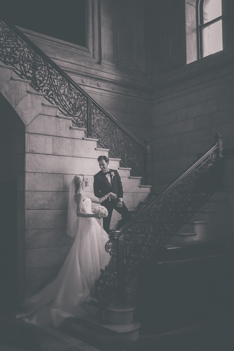 Ellicott Square Building Wedding in Buffalo, NY