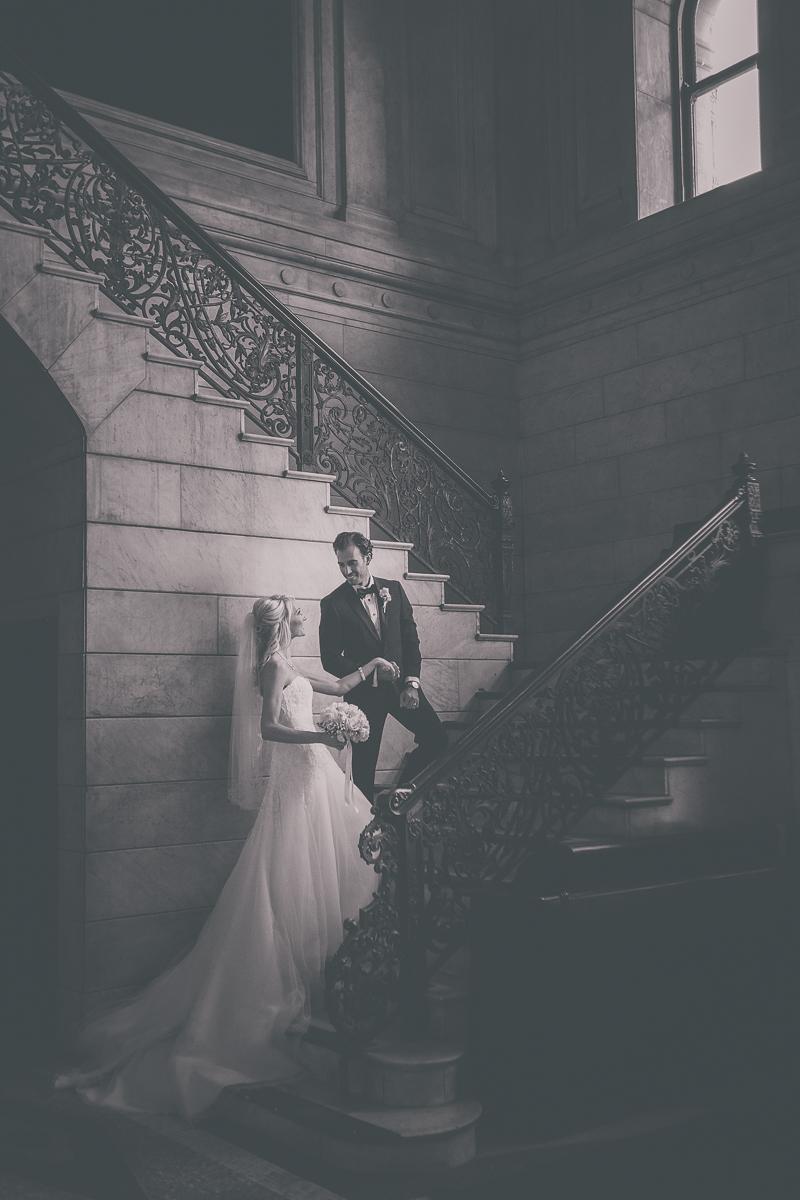 Ellicott Square Building Wedding in Buffalo, NY