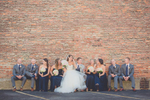 wedding-party-casual--candid-pose-buffalo-ny-parking-lot-2