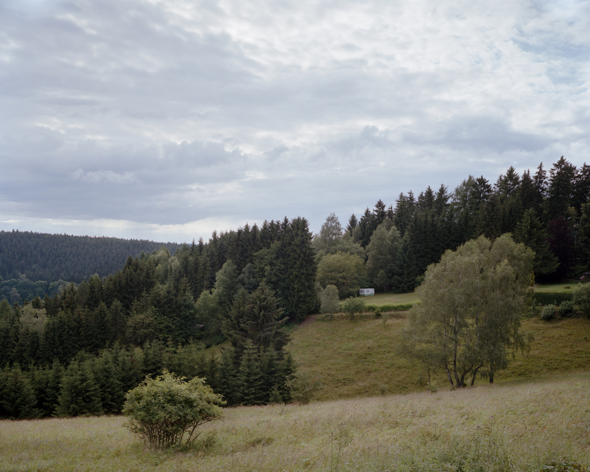 Trailer, Thuringian Forest, Germany 2012