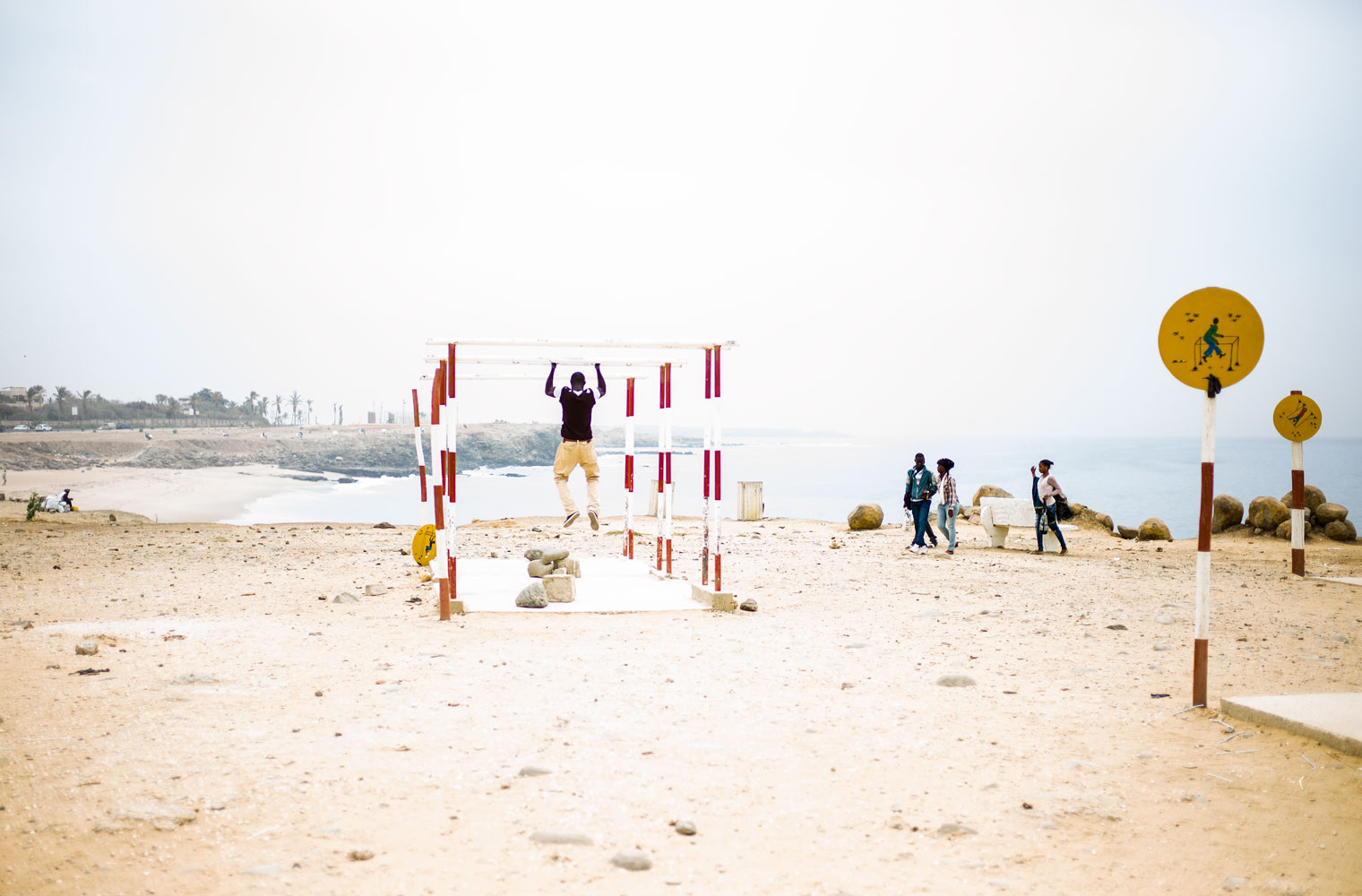 Muscle Beach, Dakar, Senegal
