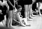 Chelsea Clinton at a ballet recital at the Washington School of Ballet in Washington, DC. Photograph by Barbara Kinney, The White House