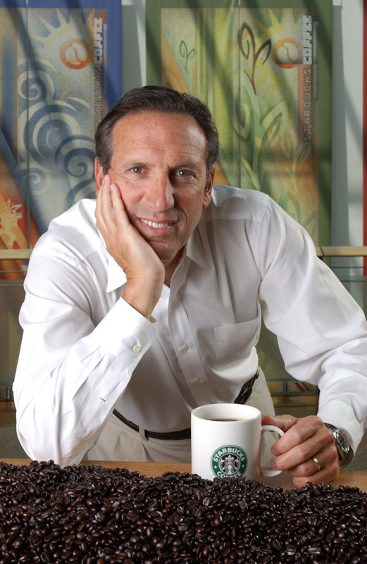 <i>Howard Schultz, Founder, Chairman, President and CEO of Starbucks</i>