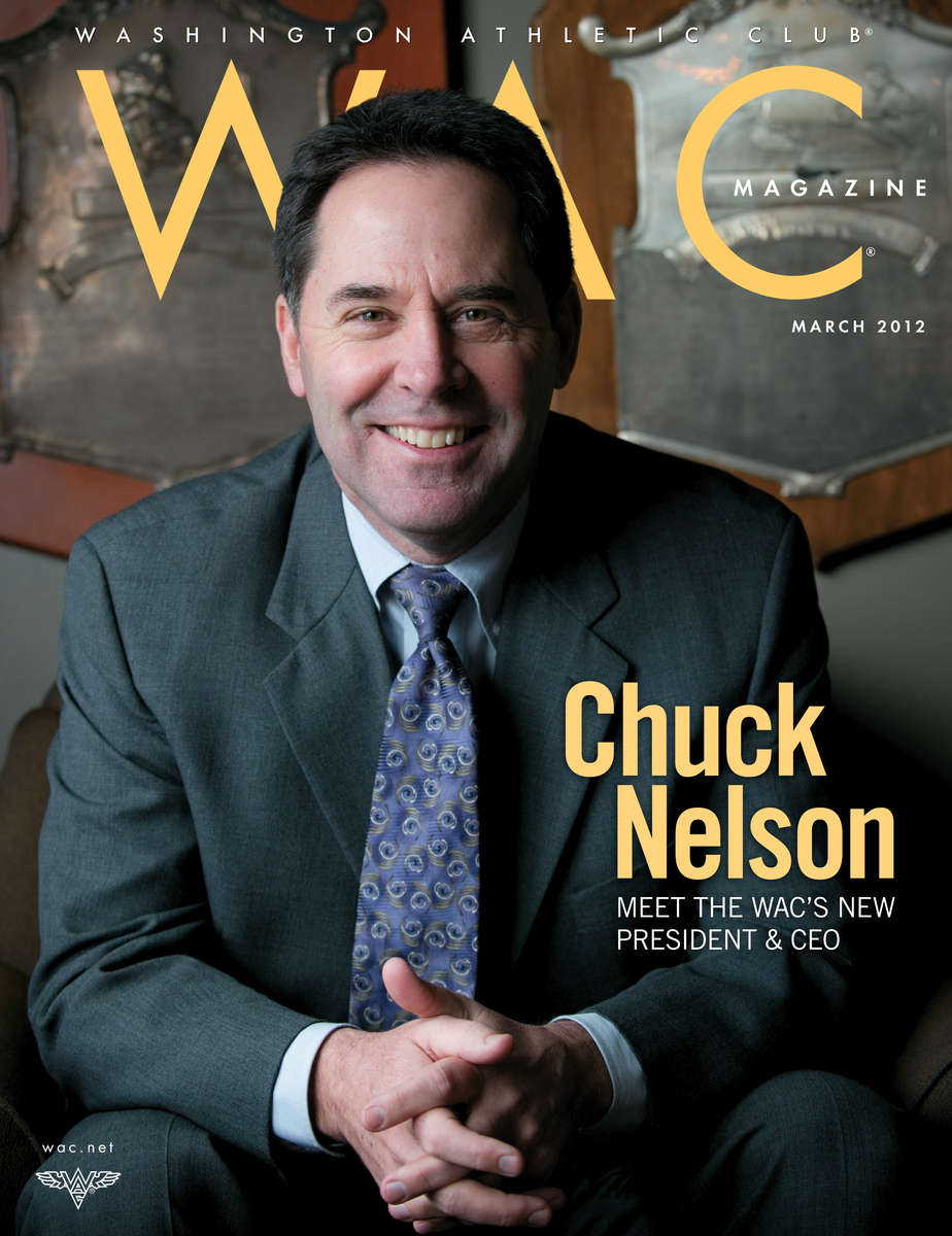 Chuck Nelson, CEO of the Washington Athletic Club