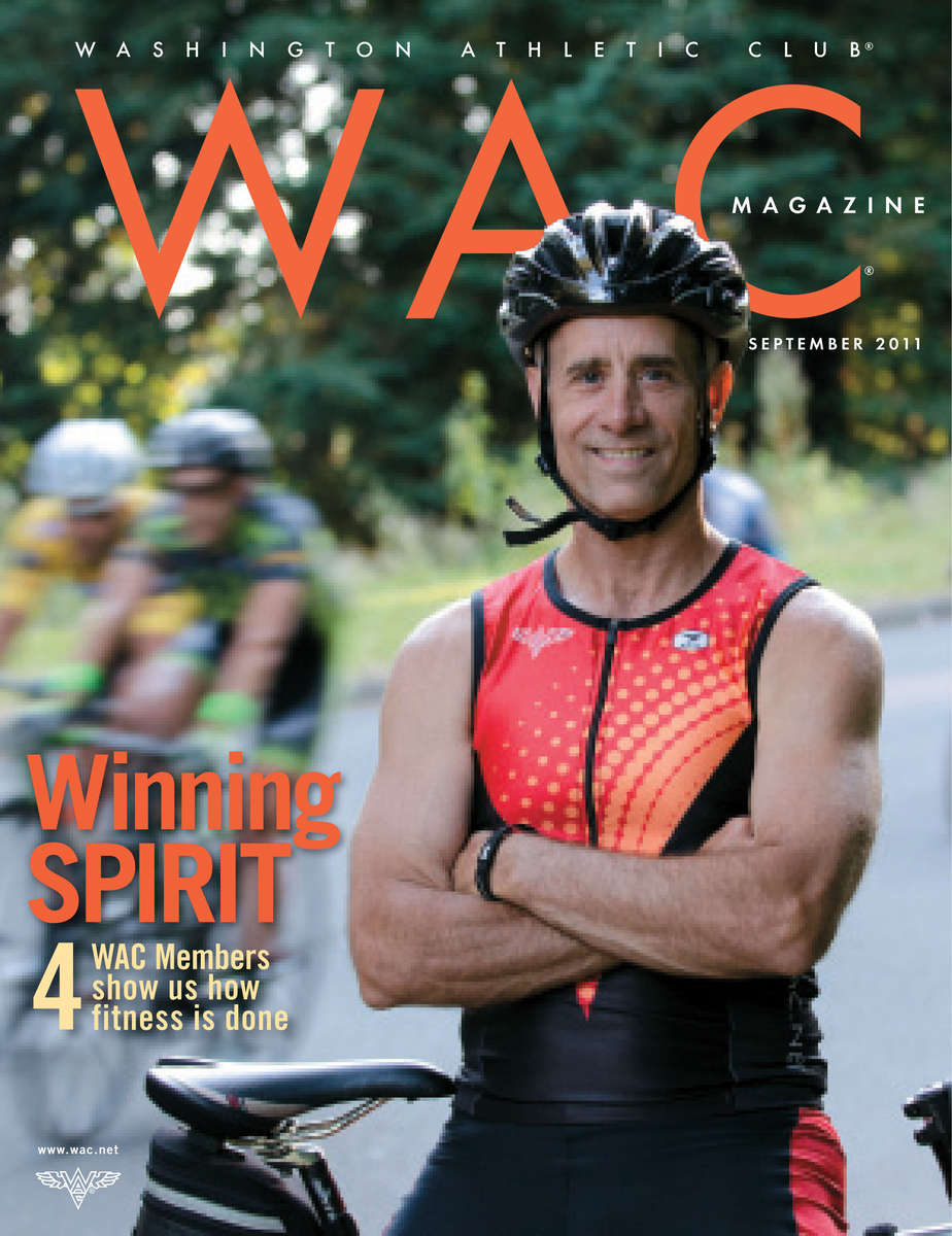 Cover of the Washington Athletic Club magazine