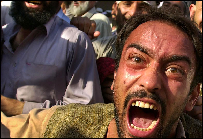 Scattered groups of protestors in Peshawar, skirmished with police and five people were reported killed on November 9th.