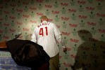 Charlie Manuel is introduced at press conference in November of 2004.