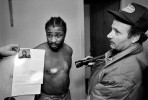 A fugitive tries to convince Indianapolis bounty hunter Ray Meredith that it is not his picture on the warrant. It was, and he was booked at the jail.