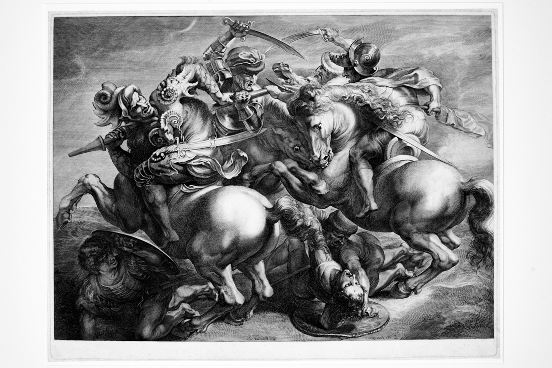 Research at UCSD on the Battle of Anghiari