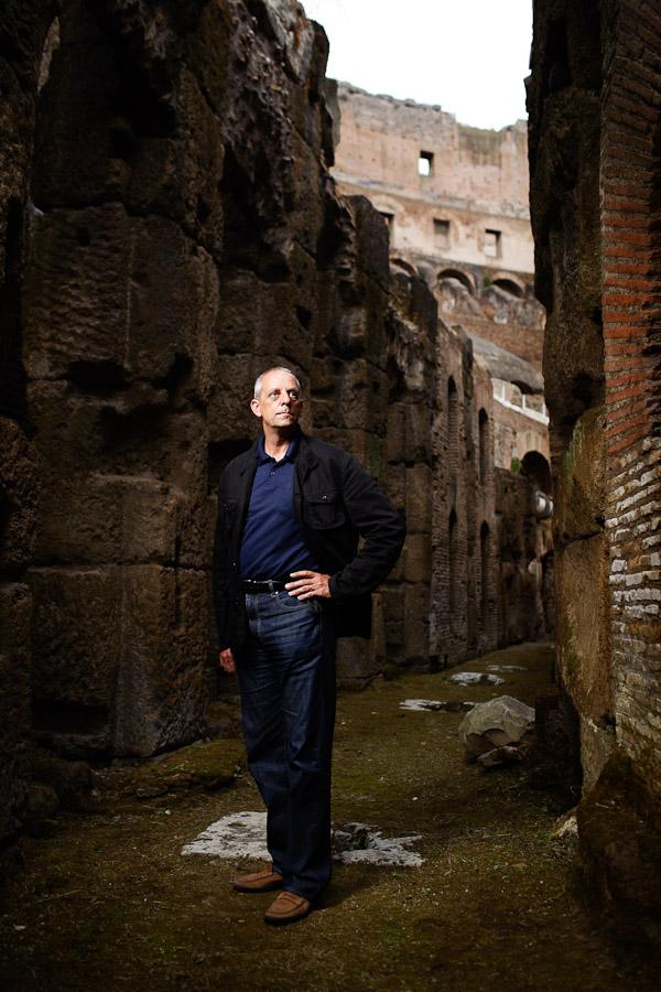 Archeologist Heinz-Jürgen Beste