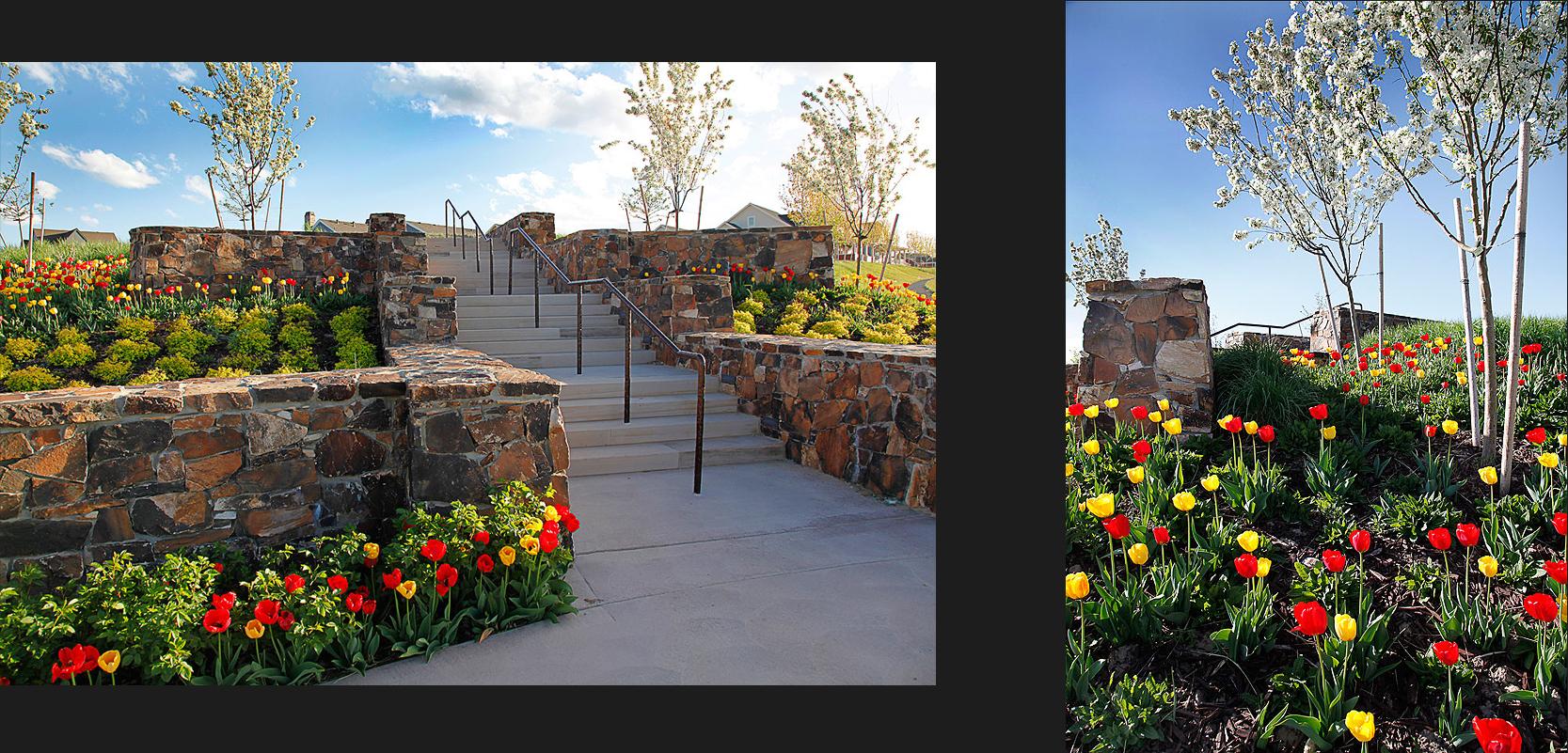 Daybreak Community Entrance: commercial landscapes: PHOTOGRAPHY ...
