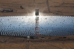 Coalinga solar farm, California.