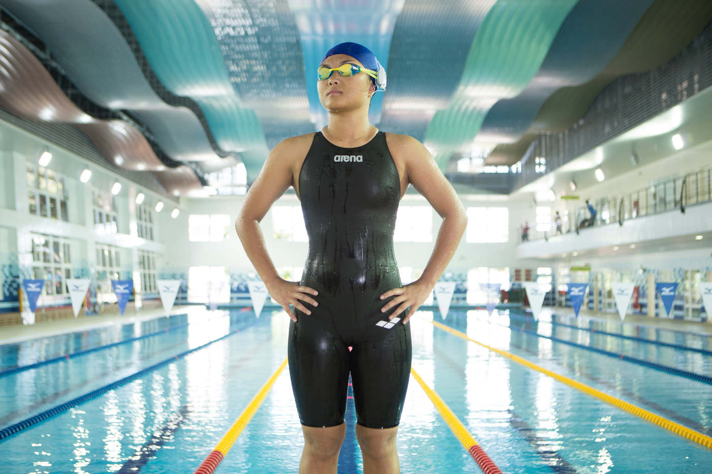 Swimmer and Cochlear implant recipient,Taipei, Taiwan, for Advanced Bionics.