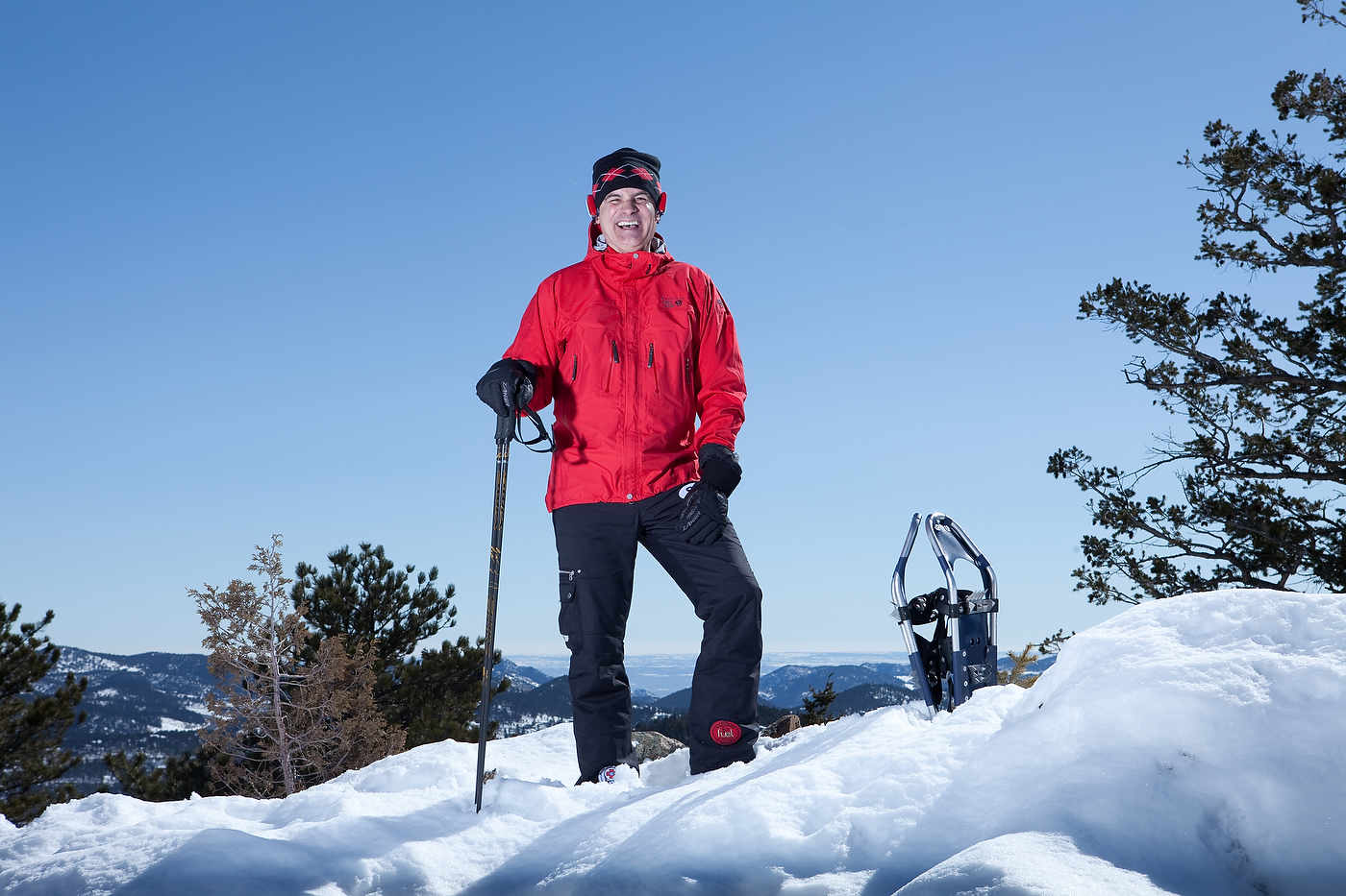 Mike, mountaineer, Colorado, for Advanced Bionics.