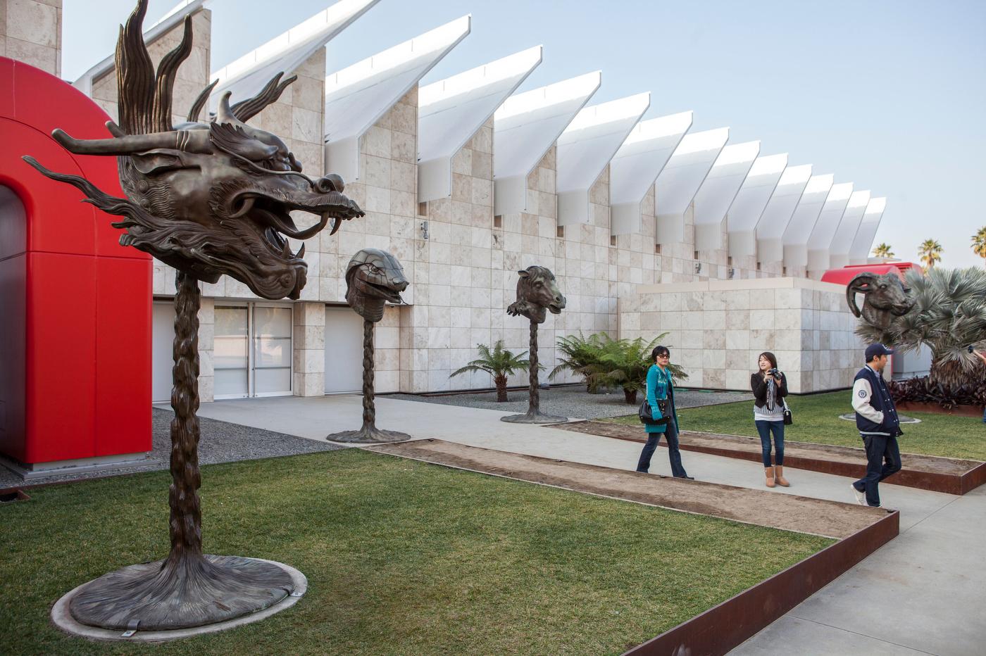 Broad Contemporary Art Museum, Los Angeles.