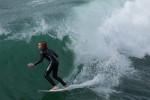 Surfer, Huntington Beach.