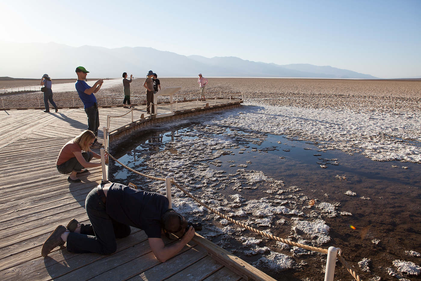 Badwater Basin, Death Valley.