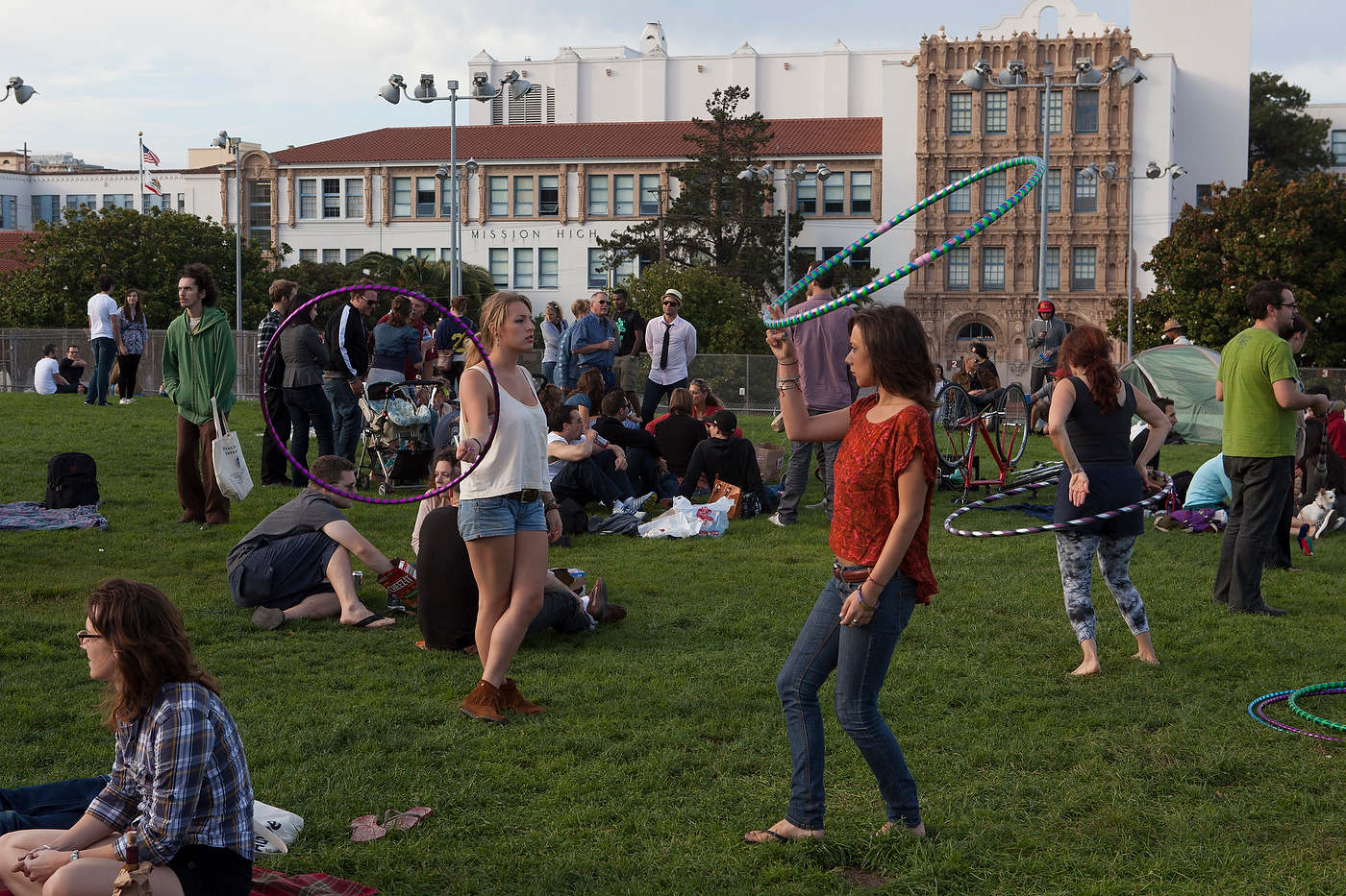 Mission Dolores Park, San Francisco.