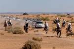 Show Open, Merzouga Dunes, Sahara Desert.