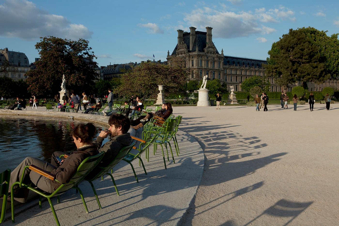 Jardin des Tuileries, Paris.