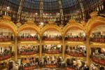 Galeries Lafayette, Paris.