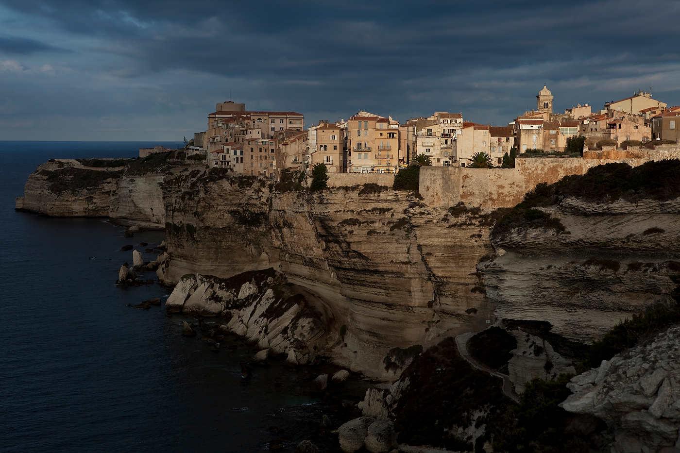 Sunrise, Bonifacio, Corsica.