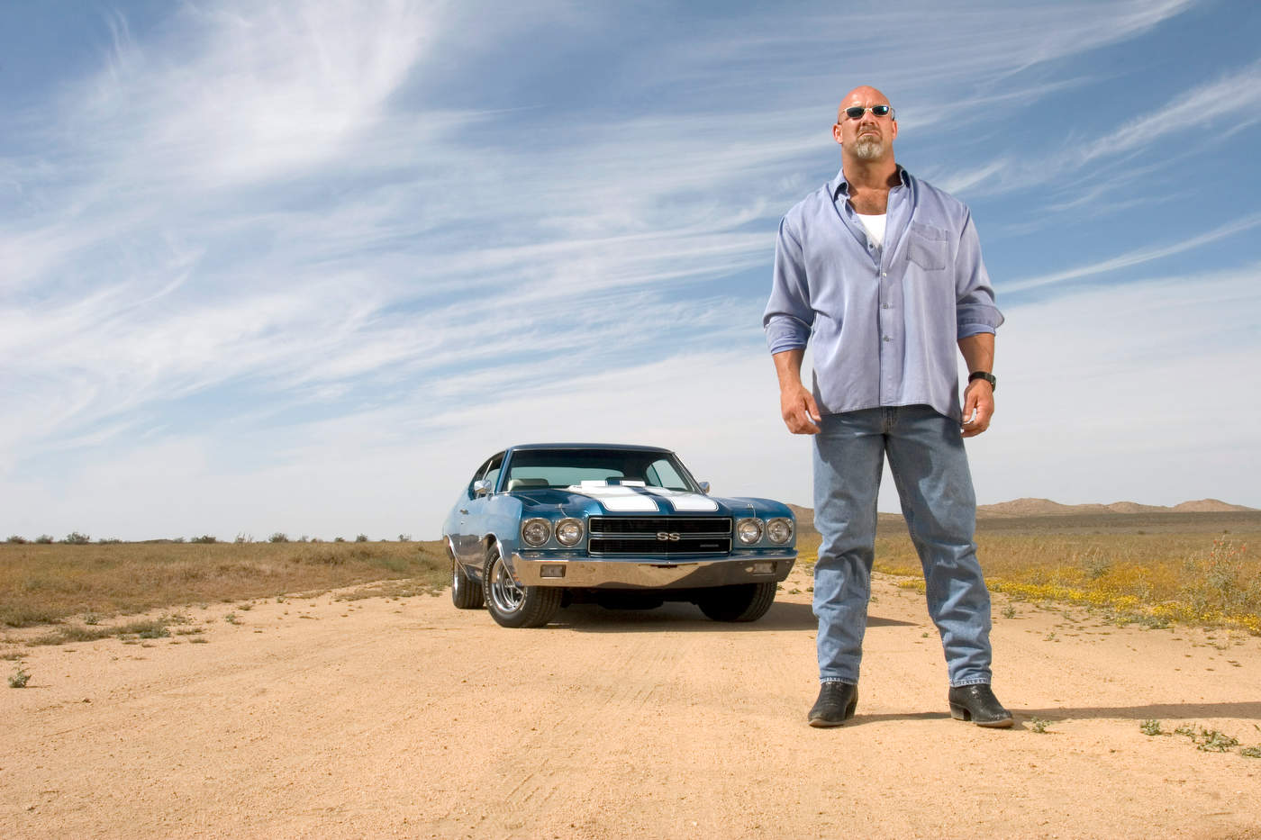 Bill Goldberg, for A&E Television.