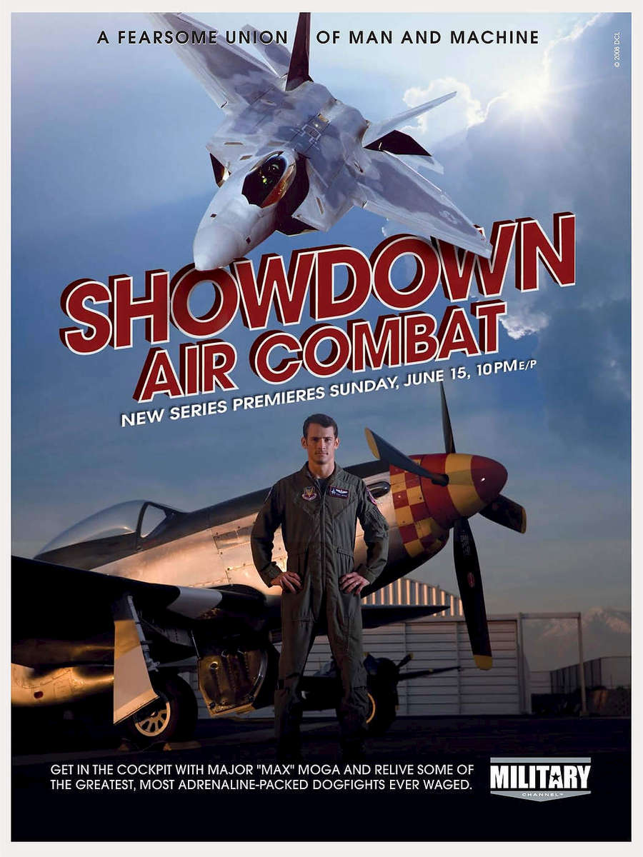 Showdown Air Combat, Discovery Channel, California.
