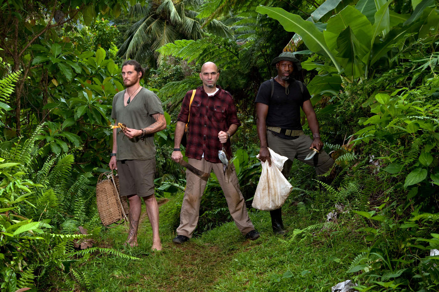 No Kitchen Required, Dominica island, BBC America.