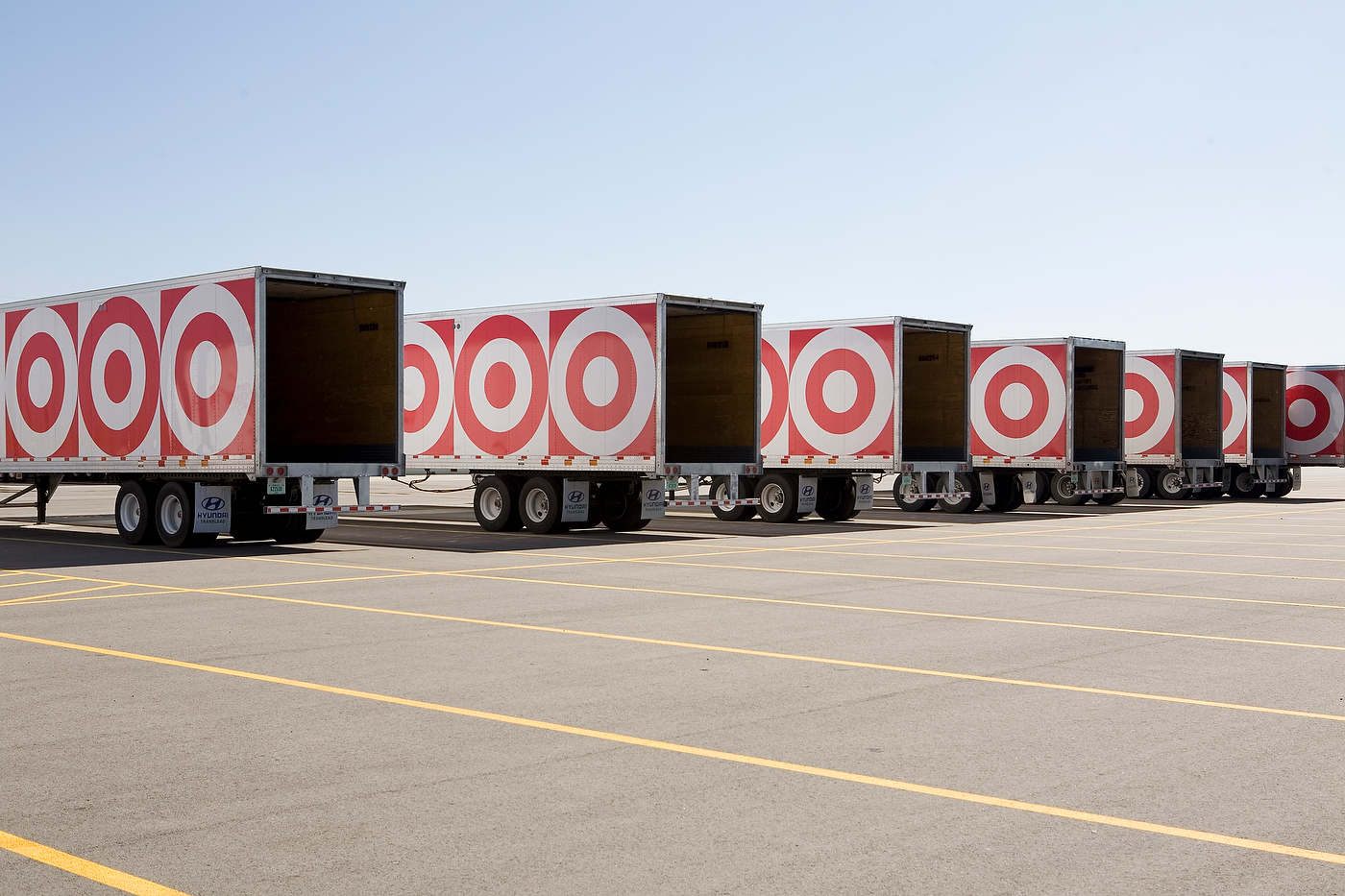 Target warehouse, for Target.