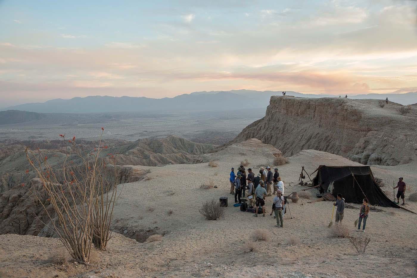 Last Days in The Desert.