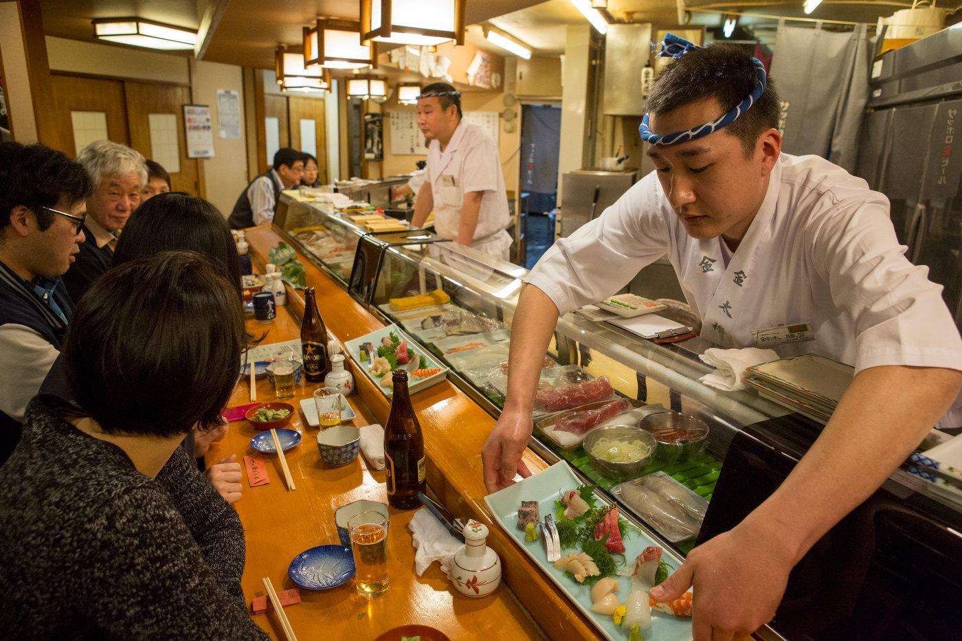 Sushi, Asakusa.