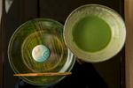 Green tea and a sweet, Nezu Museum cafe.