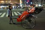 Rickshaw, Asakusa.