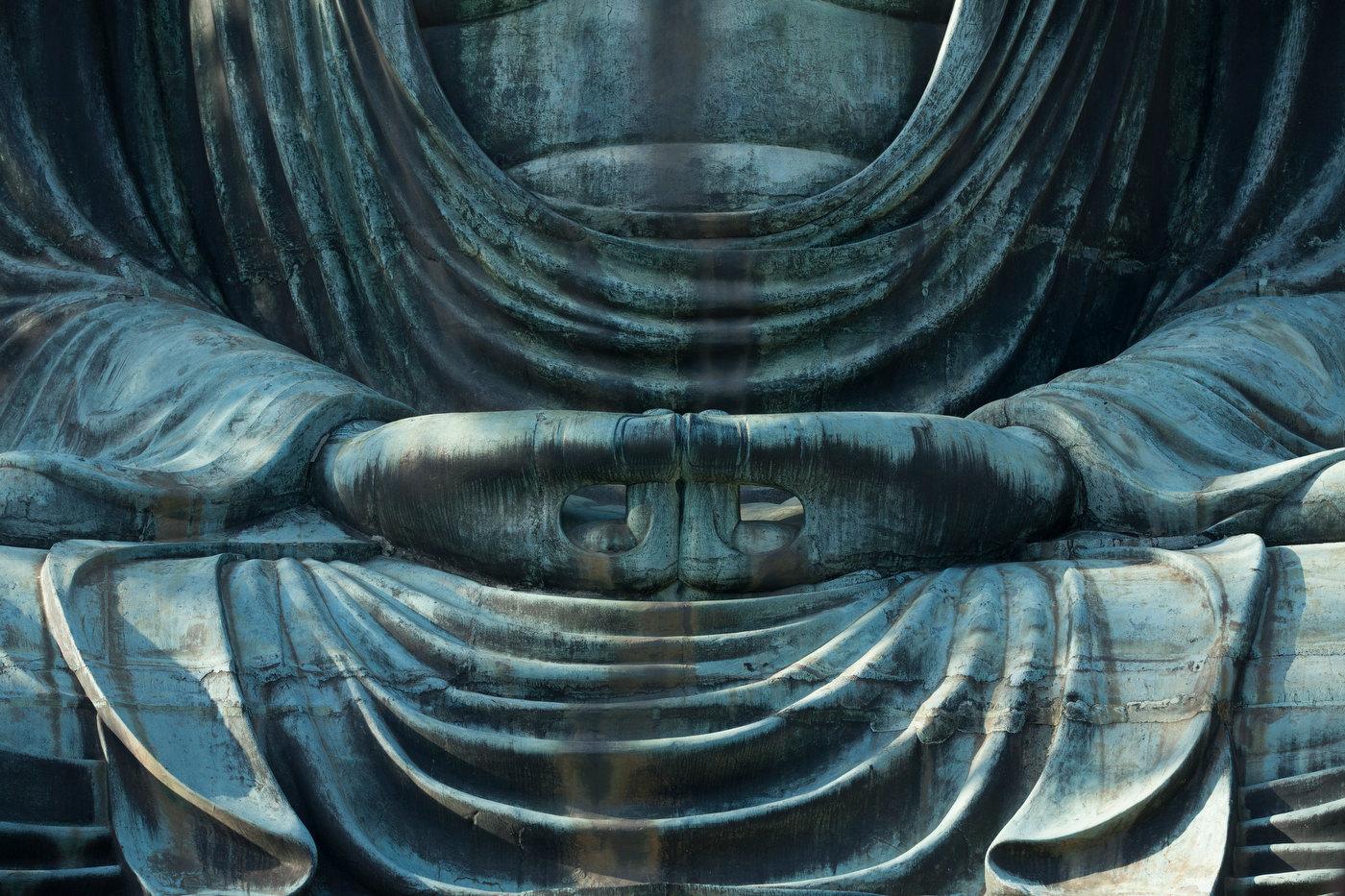 The Great Buddha of Kamakura.