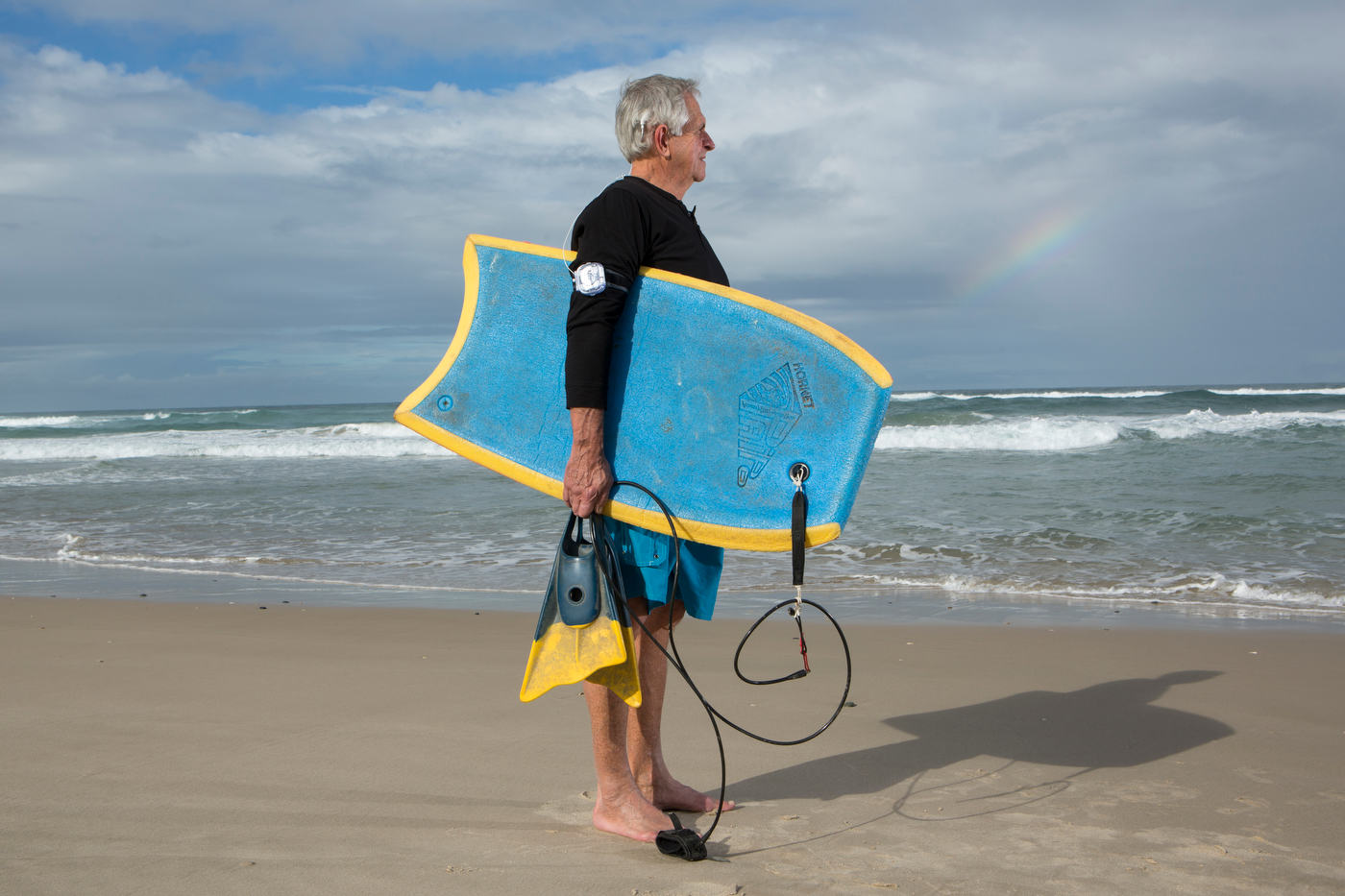 Steve Dawson, body surfer and Cochlear implant recipient, New Zealand, for Advanced Bionics.