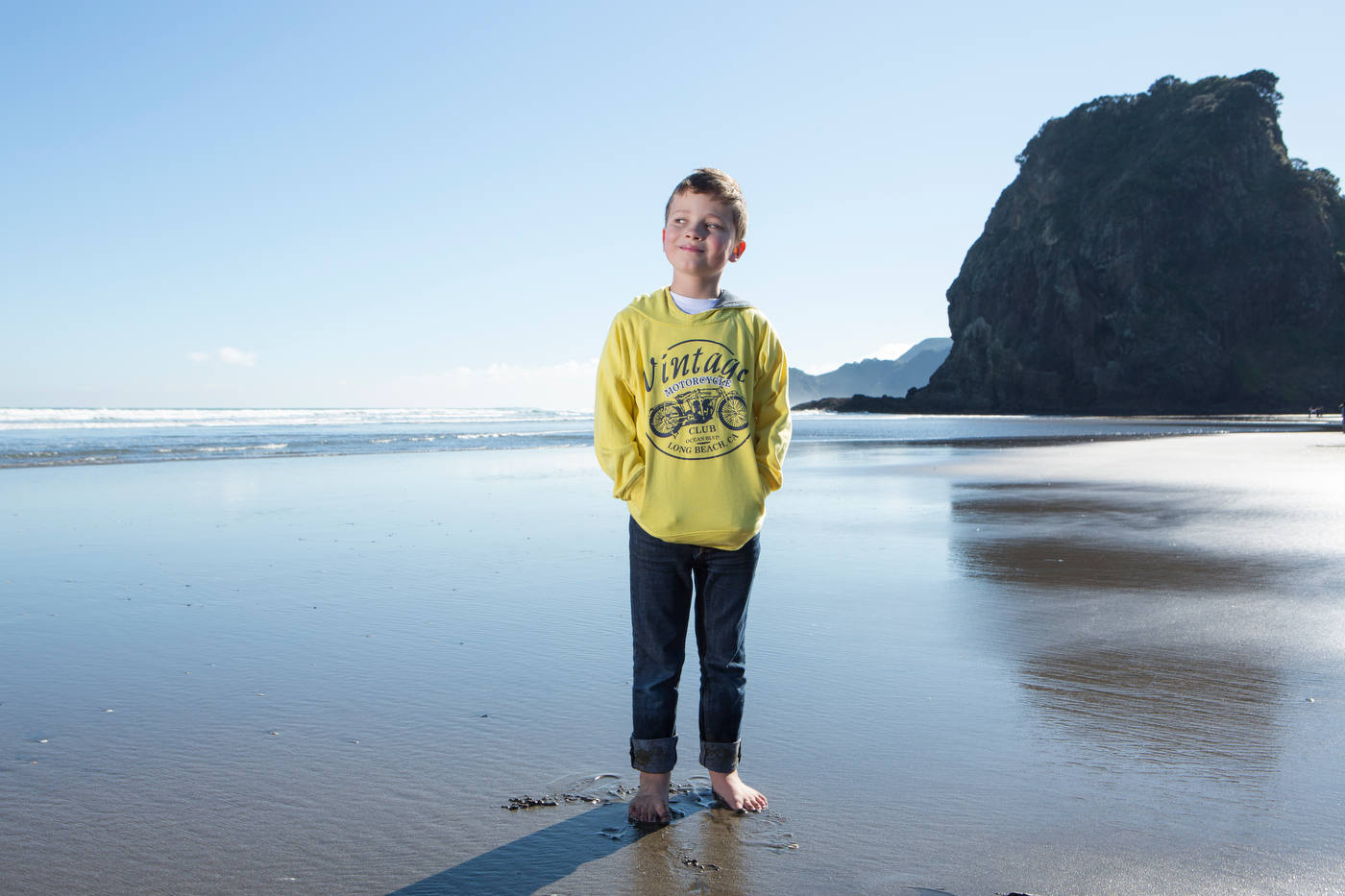 Louis, Cochlear implant recipient, in New Zealand, for Advanced Bionics.